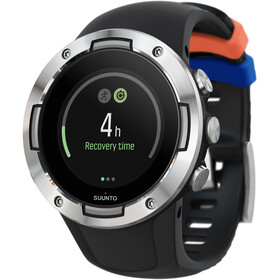 Suunto Suunto 5 Multisport GPS Watch, black steel